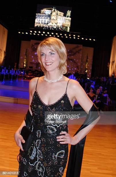 Marietta Slomka 1 Dresdner 'SemperOpernball' 'Semper Oper' Dresden Sachsen Deutschland Europa Promi BB DIG PNr 018/2006