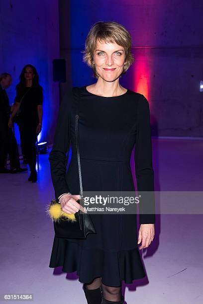 Marietta Slomka attends the 12th Long Night of the Sueddeutsche Zeitung at Palazzo Italia on January 11 2017 in Berlin Germany