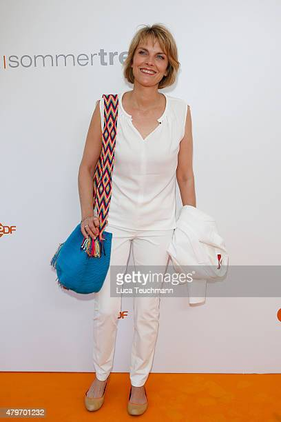 Marietta Slomka attends the ZDF summer reception on July 6 2015 in Berlin Germany