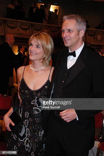 Marietta Slomka Ehemann Christof Lang 1 Dresdner 'SemperOpernball' 'Semper Oper' Dresden Sachsen Deutschland Europa Ehefrau Promi BB DIG PNr 018/2006
