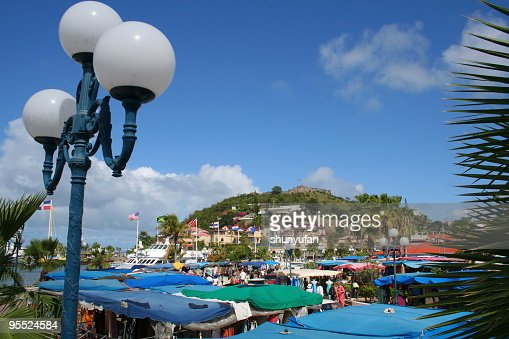 Marigot Bazaar at French St Martin