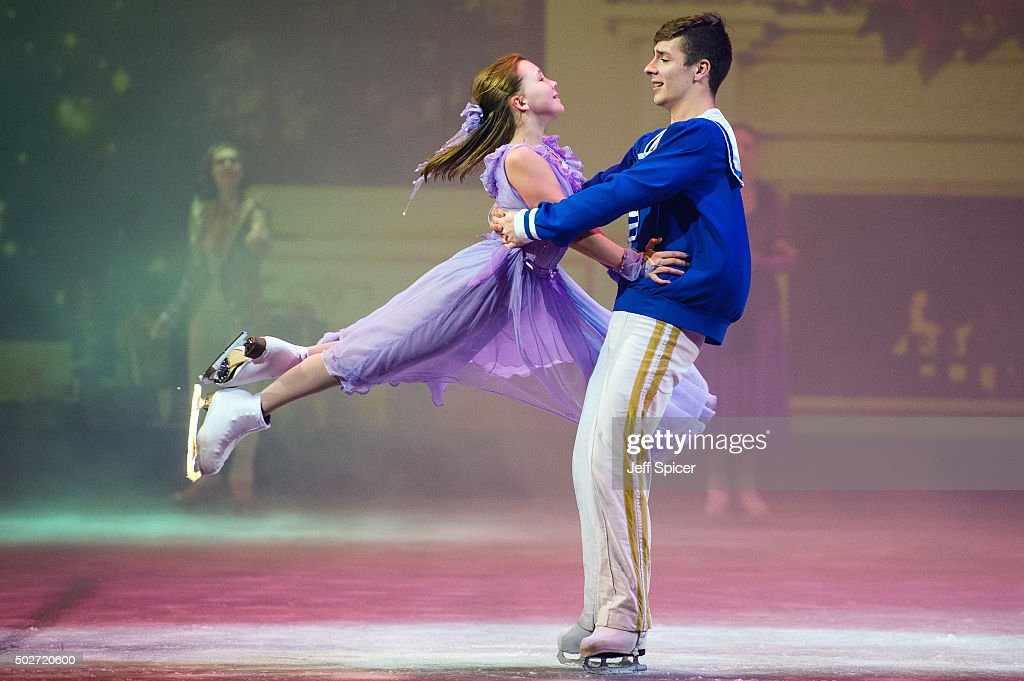 mariia vygalova and vladislav lysoi of the imperial ice stars at royal albert hall on december. Black Bedroom Furniture Sets. Home Design Ideas