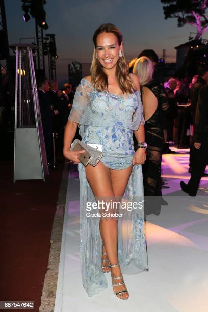 Marijana Matthaeus former wife of Lothar Matthaeus during the DeGrisogono 'Love On The Rocks' gala during the 70th annual Cannes Film Festival at...