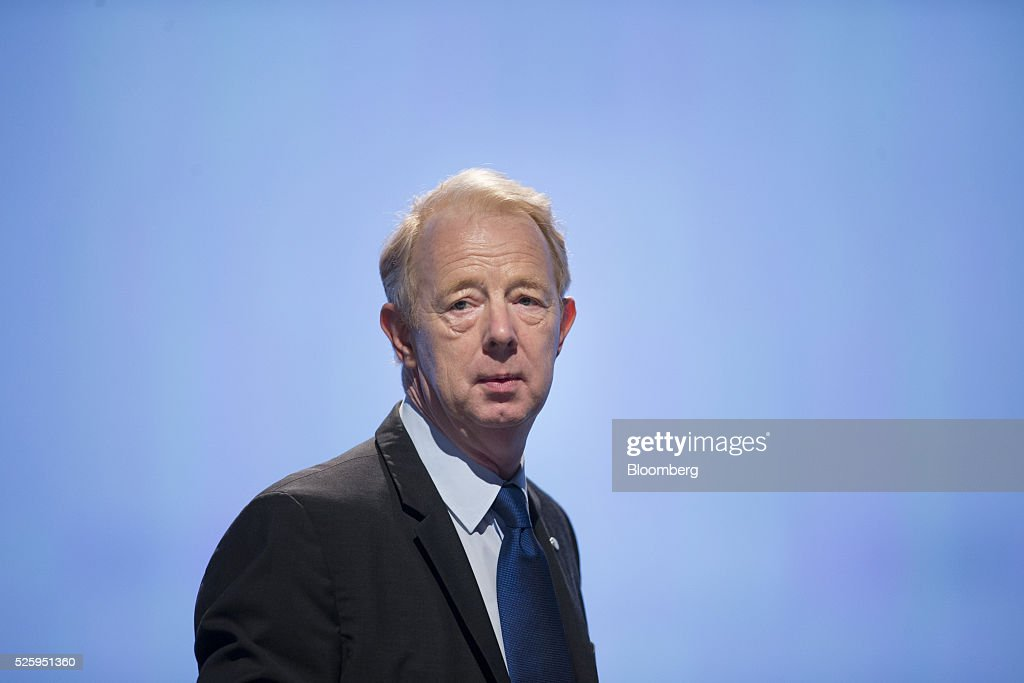 Marijn Dekkers, outgoing chief executive officer of Bayer AG, looks on ahead of the drugmaker's annual general meeting in Cologne, Germany, on Friday, April 29, 2016. Bayer, Germany's largest company, reported first-quarter profit that beat analysts' estimates as top-selling drugs Xarelto and Eylea continued to soar. Photographer: Jasper Juinen/Bloomberg via Getty Images