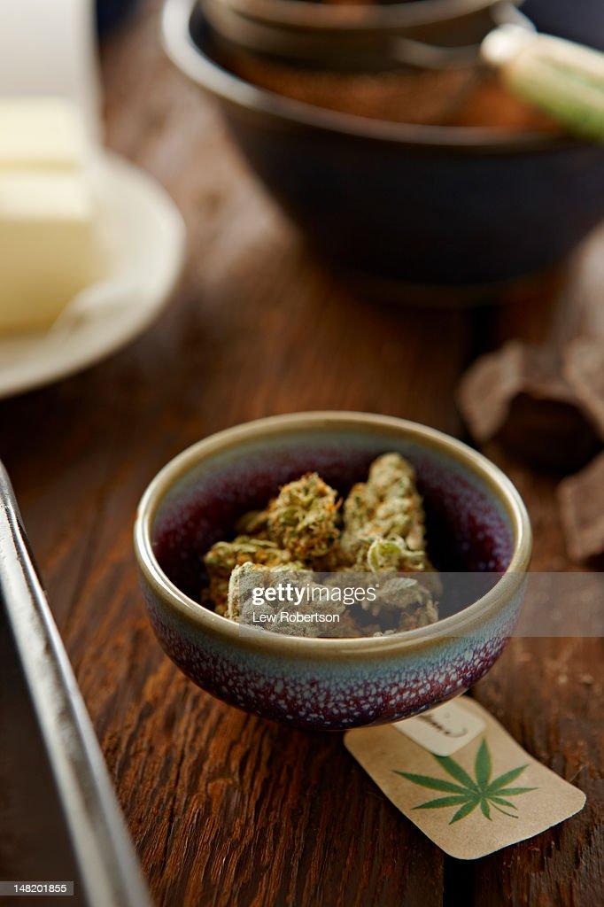 Marijuana and baking ingredients