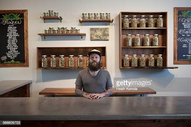 Marijuana dispensary in Portland, OR.