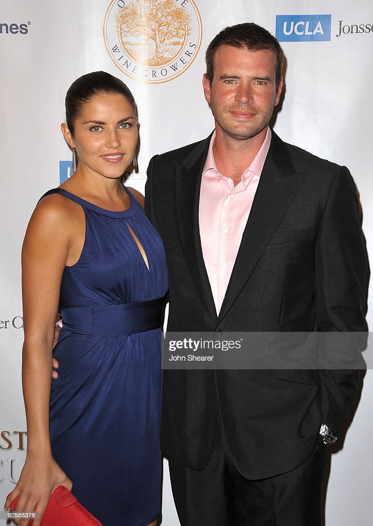 Marika Dominczyk and Scott Foley arrive at UCLA's Jonsson Cancer Center Foundation's 'Taste For A Cure' at The Beverly Wilshire Hotel on May 1 2009...