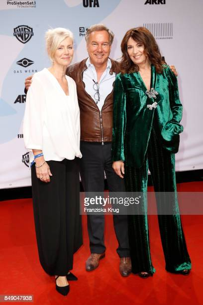 Marika George Nico Hofmann and Iris Berben attend the First Steps Award 2017 at Stage Theater on September 18 2017 in Berlin Germany