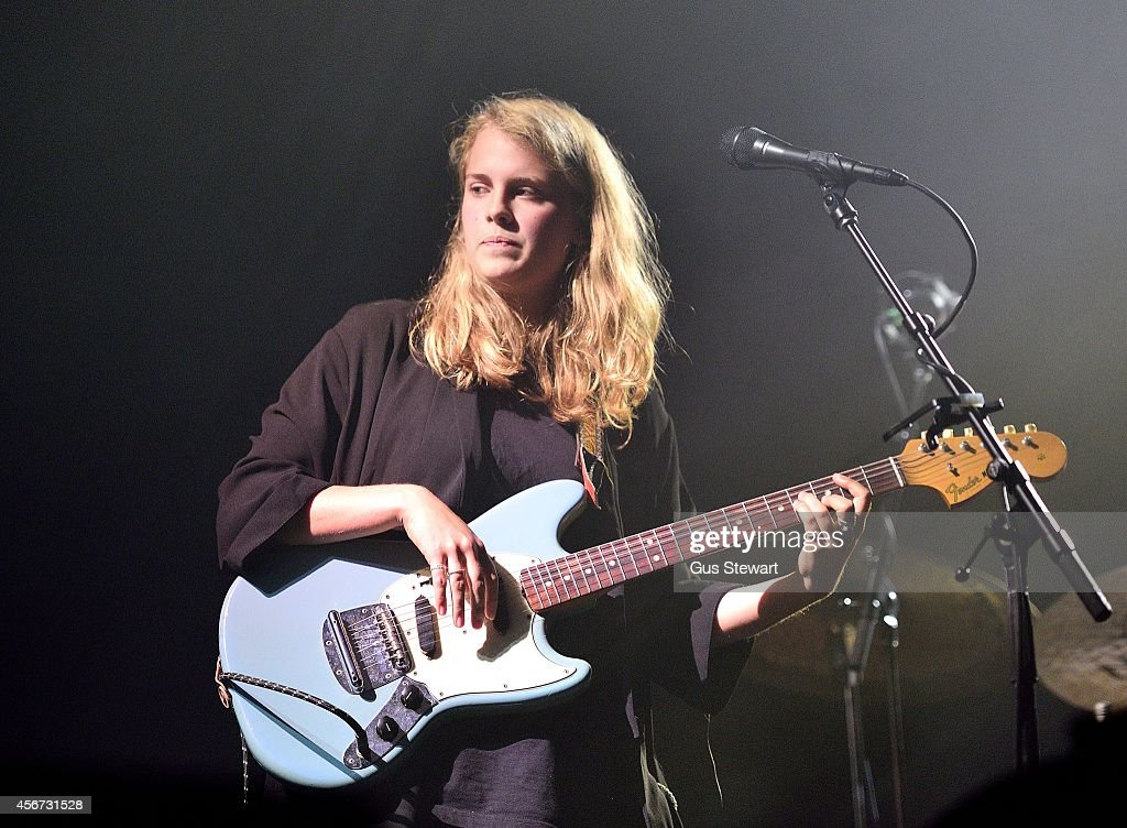 Marika Hackman Performs As Support For Alt-J At Alexandra Palace In London