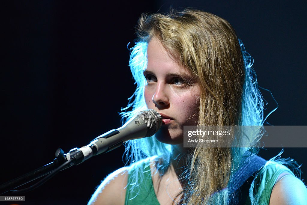 Marika Hackman performs on stage at Latitude 30 during Day 3 of SXSW 2013 Music Festival on March 14, 2013 in Austin, Texas.