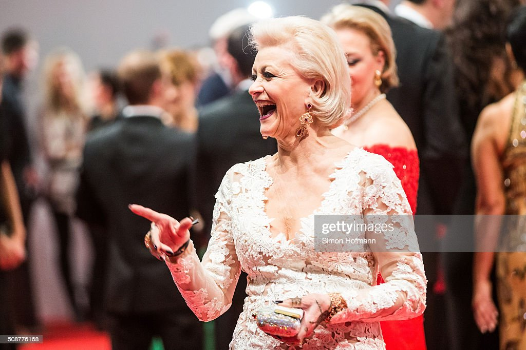 Marika Kilius attends German Sports Gala 'Ball des Sports 2016' on February 6, 2016 in Wiesbaden, Germany.