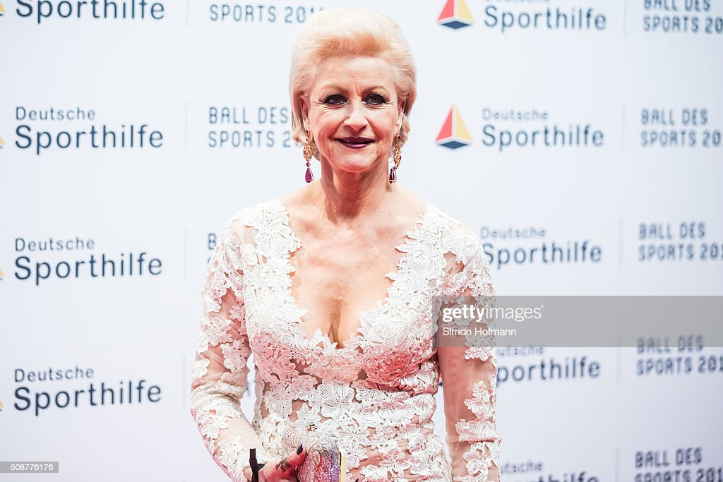 <a gi-track='captionPersonalityLinkClicked' href=/galleries/search?phrase=Marika+Kilius&family=editorial&specificpeople=783247 ng-click='$event.stopPropagation()'>Marika Kilius</a> attends German Sports Gala 'Ball des Sports 2016' on February 6, 2016 in Wiesbaden, Germany.