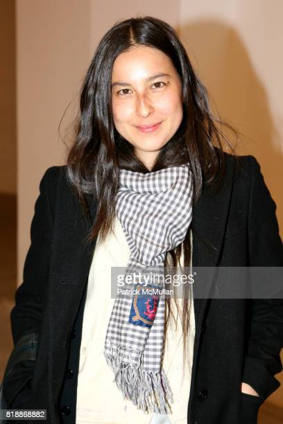 Mariko Munro attends 'The Transformation of ENRIQUE MIRON as El Diablo' by PAUL ROWLAND at 548 W 22nd St on April 29 2010 in New York