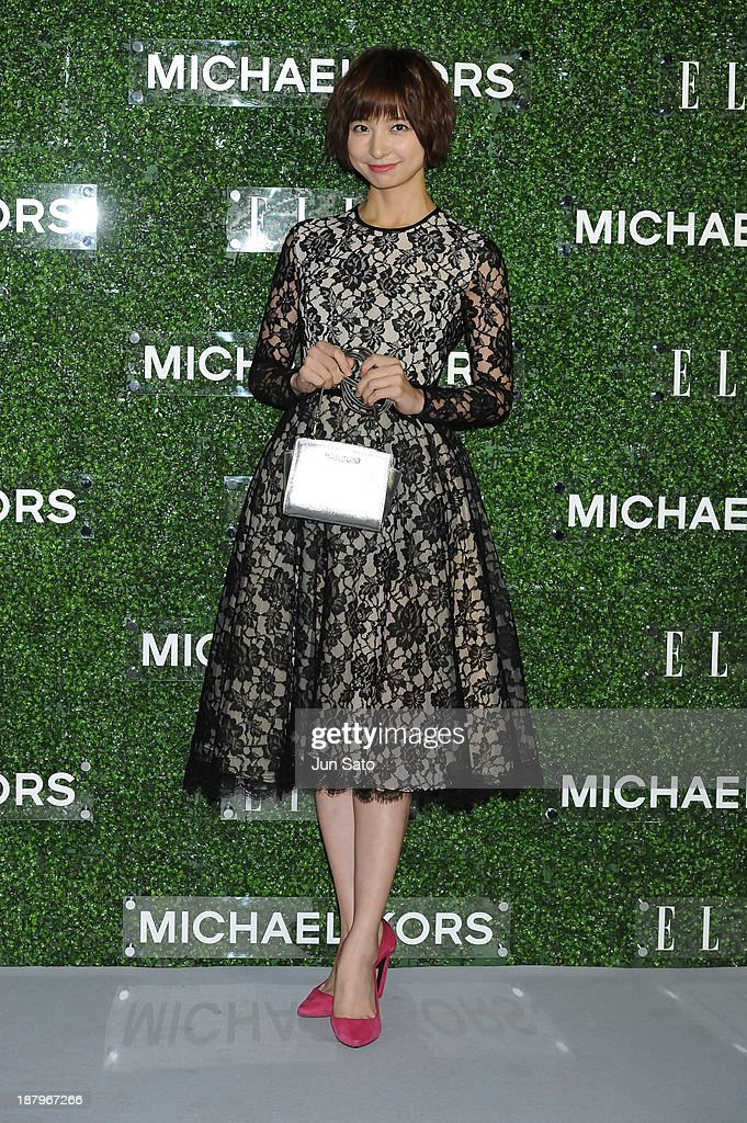 Mariko Shinoda attends 'Michael Kors and Miranda Kerr Celebrate Elle Japon December Cover' party (#MKTOKYO) at the Gallery of Horyuji Treasures of the Tokyo National Museum on November 13, 2013 in Tokyo, Japan.