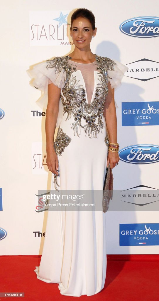 Marilo Montero attends the 4rd annual Starlite Charity Gala on August 10, 2013 in Marbella, Spain.