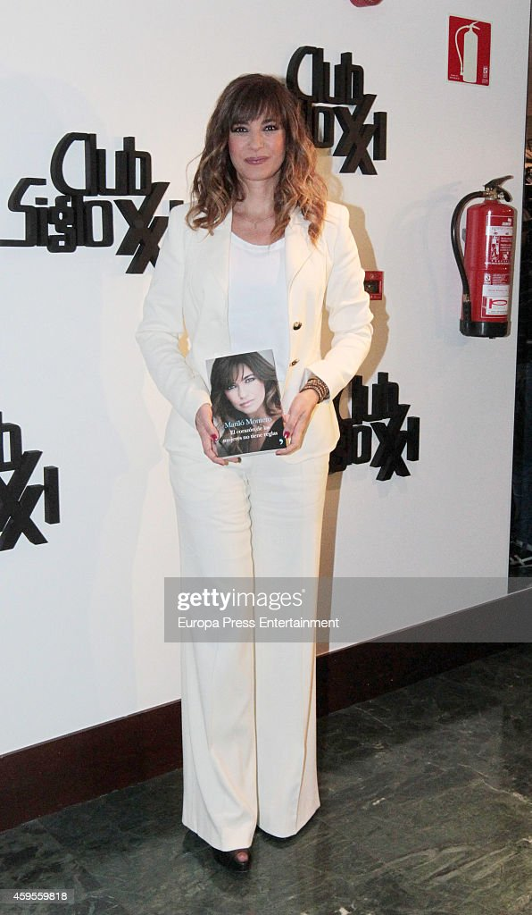 Marilo Montero attends the launch of her new book 'El Corazon de las Mujeres No Tiene Reglas' on November 24, 2014 in Madrid, Spain.
