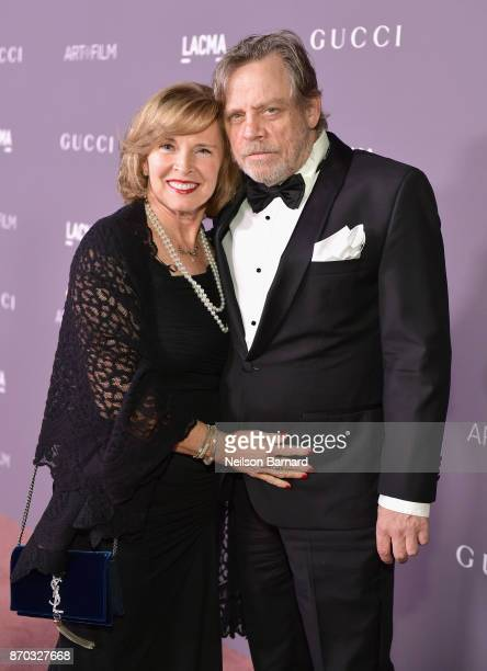Marilou York and actor Mark Hamill attend the 2017 LACMA Art Film Gala Honoring Mark Bradford and George Lucas presented by Gucci at LACMA on...