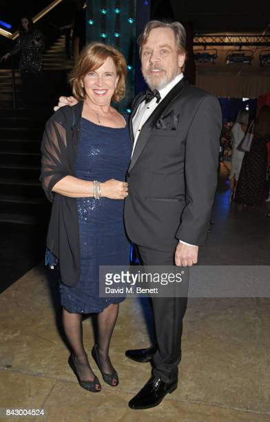 Marilou York and Mark Hamill attend the GQ Men Of The Year Awards at the Tate Modern on September 5 2017 in London England