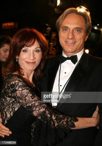 Marilu Henner and fiancee during Chicago 10th Anniversary on Broadway at The Ambassador Theater in New York NY United States