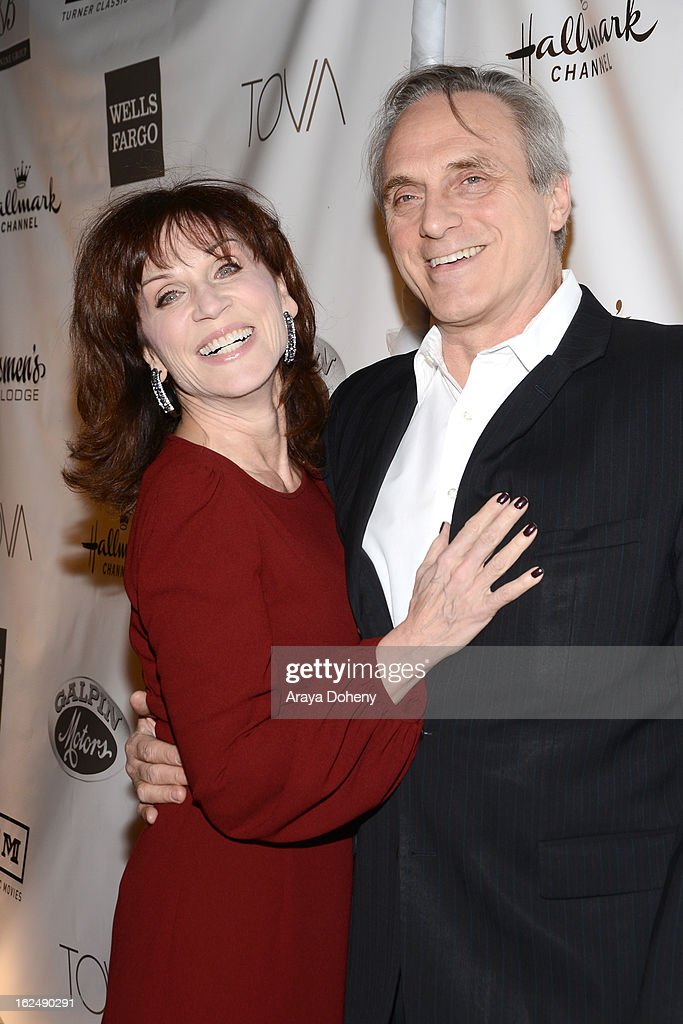 Marilu Henner and Michael Brown arrive at the 1st Annual Borgnine Movie Star Gala at Sportsmen's Lodge on February 23, 2013 in Studio City, California.