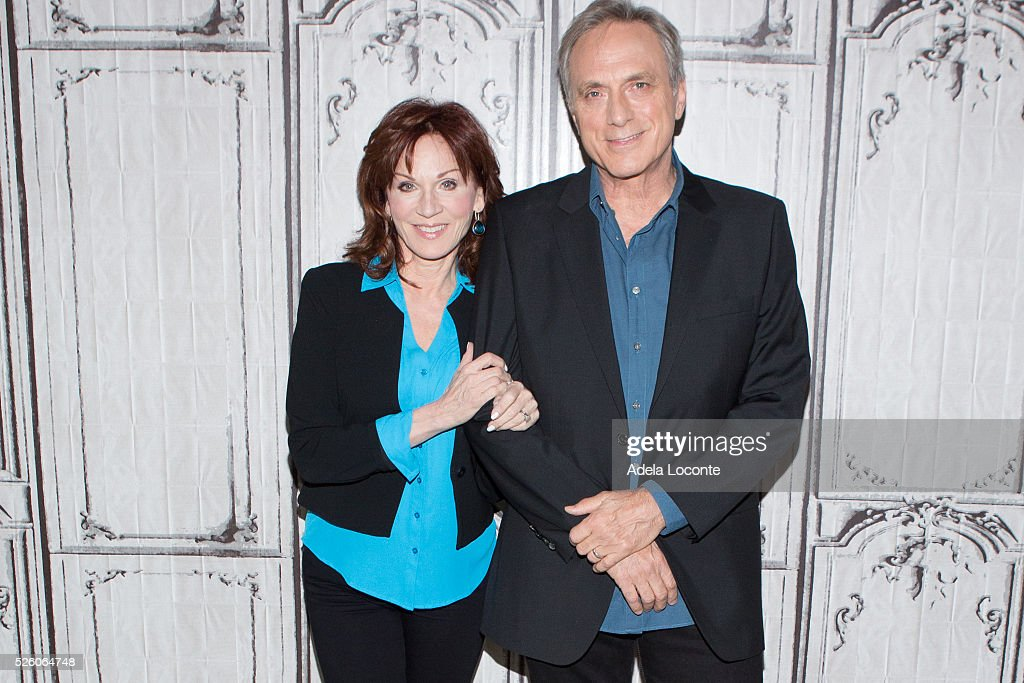 <a gi-track='captionPersonalityLinkClicked' href=/galleries/search?phrase=Marilu+Henner&family=editorial&specificpeople=213140 ng-click='$event.stopPropagation()'>Marilu Henner</a> and Michael Brown attend 'Changing Normal: How I Helped My Husband Beat Cancer' at AOL Studios In New York on April 29, 2016 in New York City.