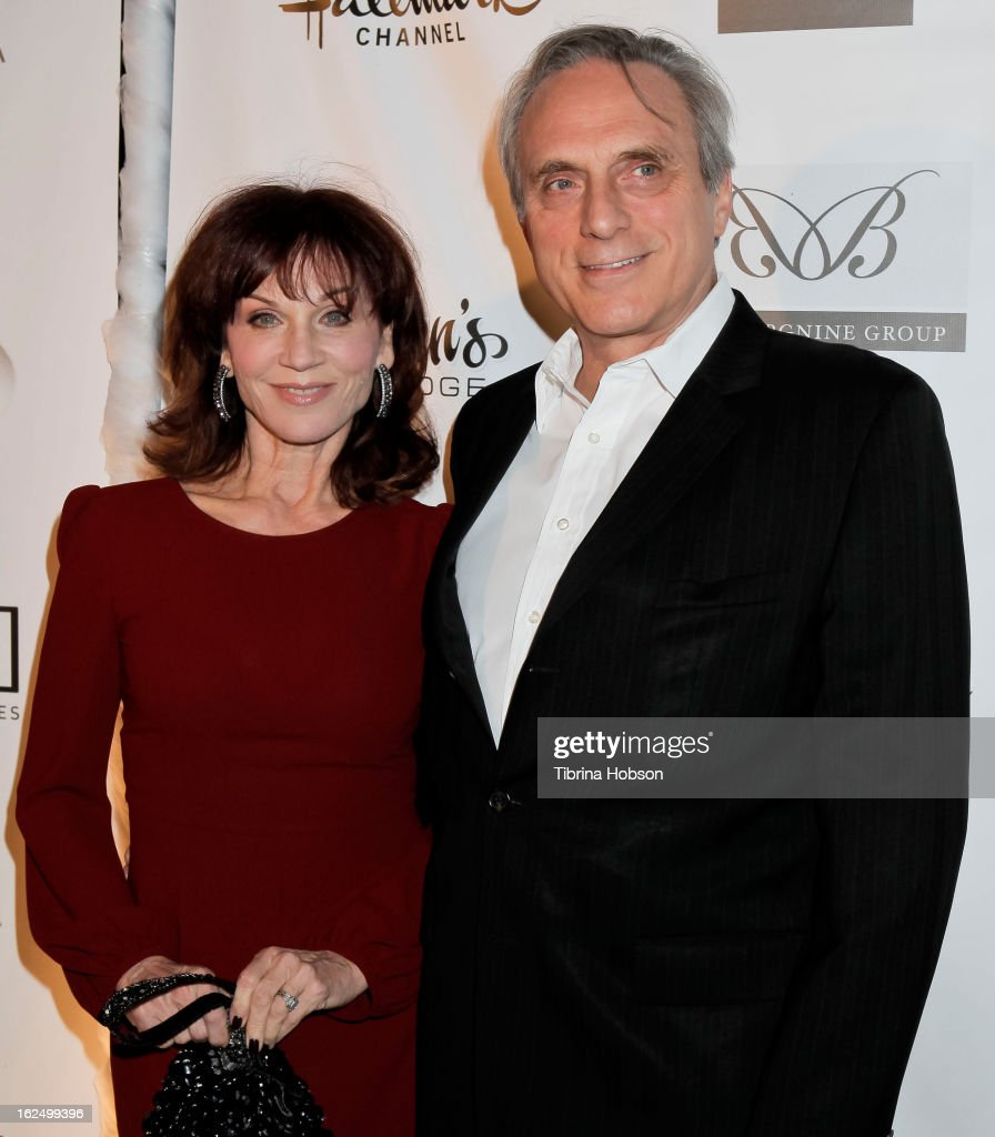 <a gi-track='captionPersonalityLinkClicked' href=/galleries/search?phrase=Marilu+Henner&family=editorial&specificpeople=213140 ng-click='$event.stopPropagation()'>Marilu Henner</a> and Michael Brown attend the Borgnine Group's 1st annual Borgnine movie star gala at Sportsmen's Lodge on February 23, 2013 in Studio City, California.