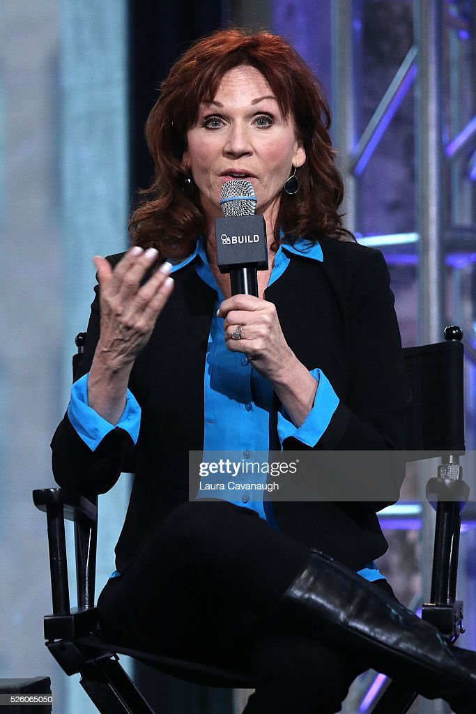 Marilu Henner attends AOL Build Speaker Series to discuss 'Changing Normal: How I Helped My Husband Beat Cancer' at AOL Studios In New York on April 29, 2016 in New York City.
