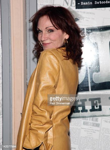 Marilu Henner attends 'Newsies' Broadway opening night at the Nederlander Theatre on March 29 2012 in New York City