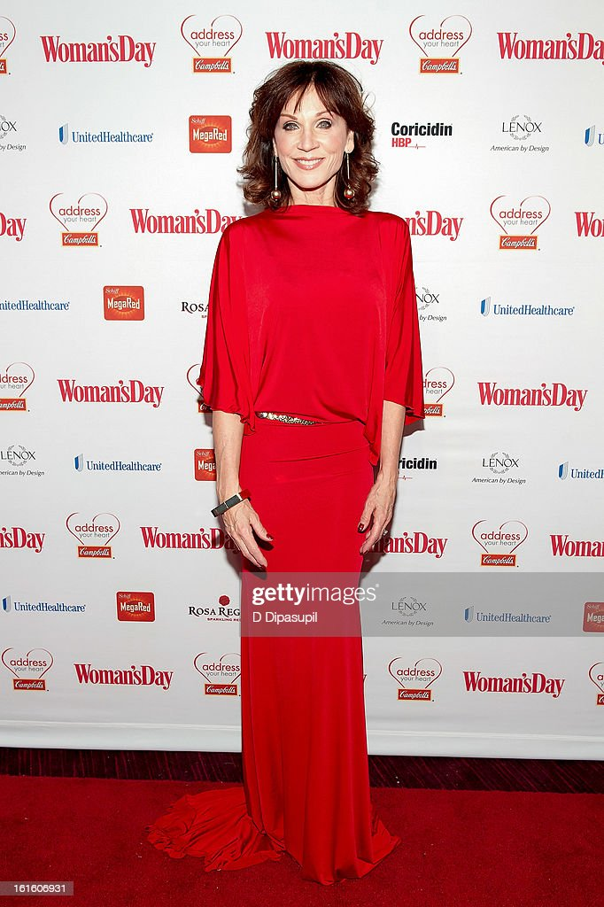 Marilu Henner attends the 10th Annual Red Dress Awards at Jazz at Lincoln Center on February 12, 2013 in New York City.