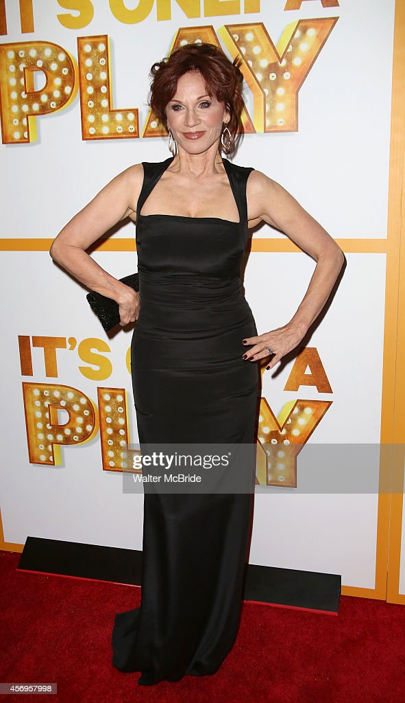 Marilu Henner attends the Broadway Opening Night Performance of 'It's Only A Play' at the Gerald Schoenfeld Theatre on October 9 2014 in New York City
