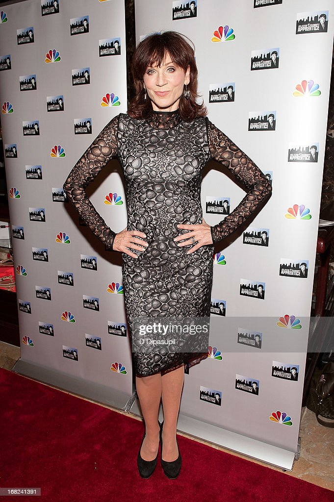 <a gi-track='captionPersonalityLinkClicked' href=/galleries/search?phrase=Marilu+Henner&family=editorial&specificpeople=213140 ng-click='$event.stopPropagation()'>Marilu Henner</a> attends 'The Celebrity Apprentice All-Stars' Red Carpet at Trump Tower on May 7, 2013 in New York City.
