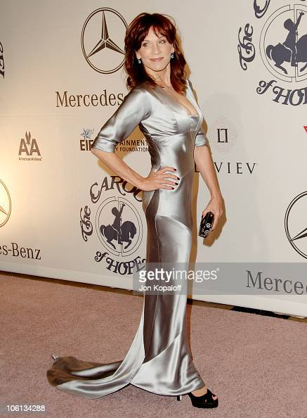 Marilu Henner during MercedesBenz Presents the 17th Carousel of Hope Ball Arrivals at Beverly Hilton Hotel in Beverly Hills California United States