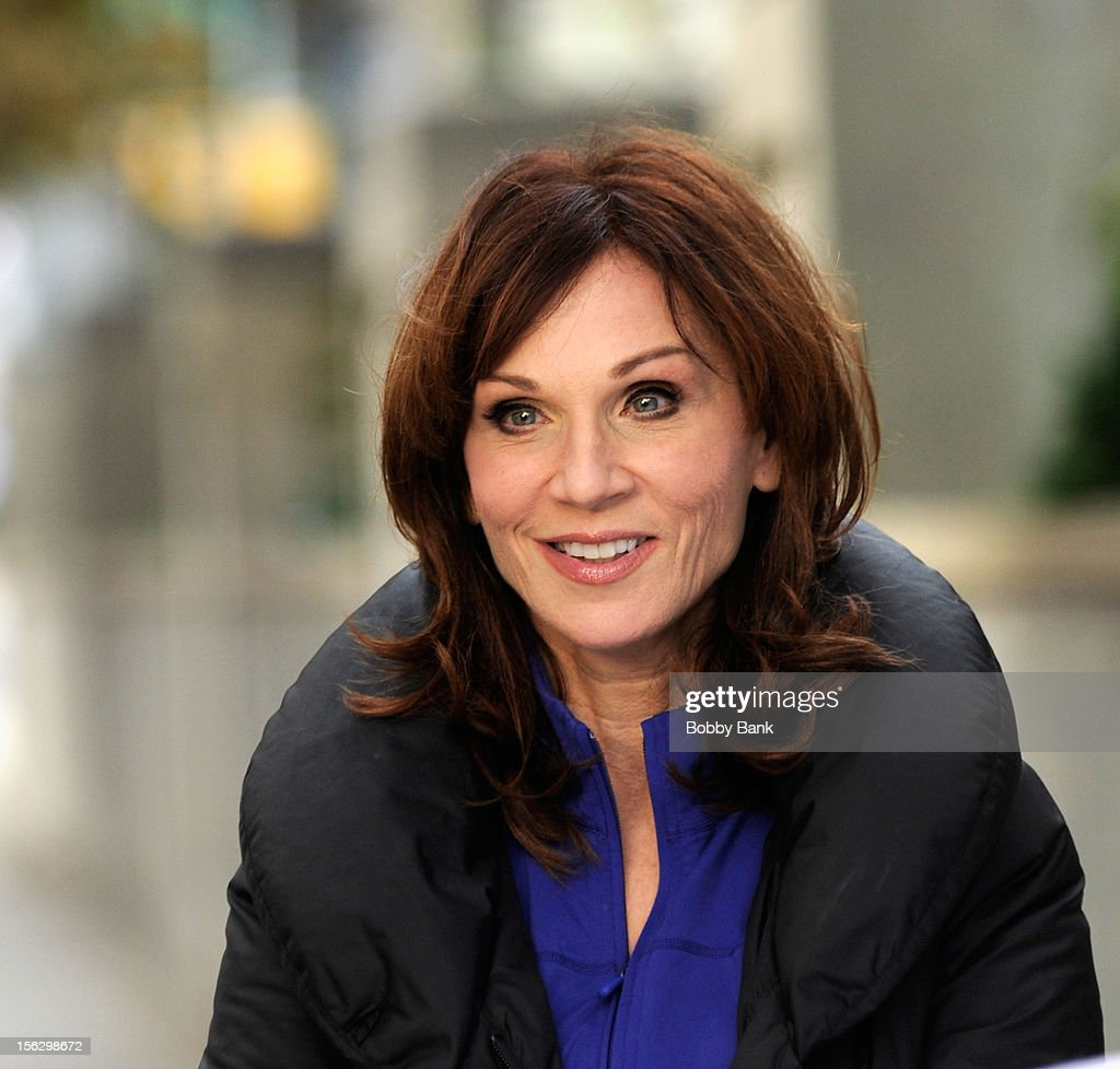 <a gi-track='captionPersonalityLinkClicked' href=/galleries/search?phrase=Marilu+Henner&family=editorial&specificpeople=213140 ng-click='$event.stopPropagation()'>Marilu Henner</a> filming on location for 'Celebrity Apprentice All Stars' on November 12, 2012 in New York City.