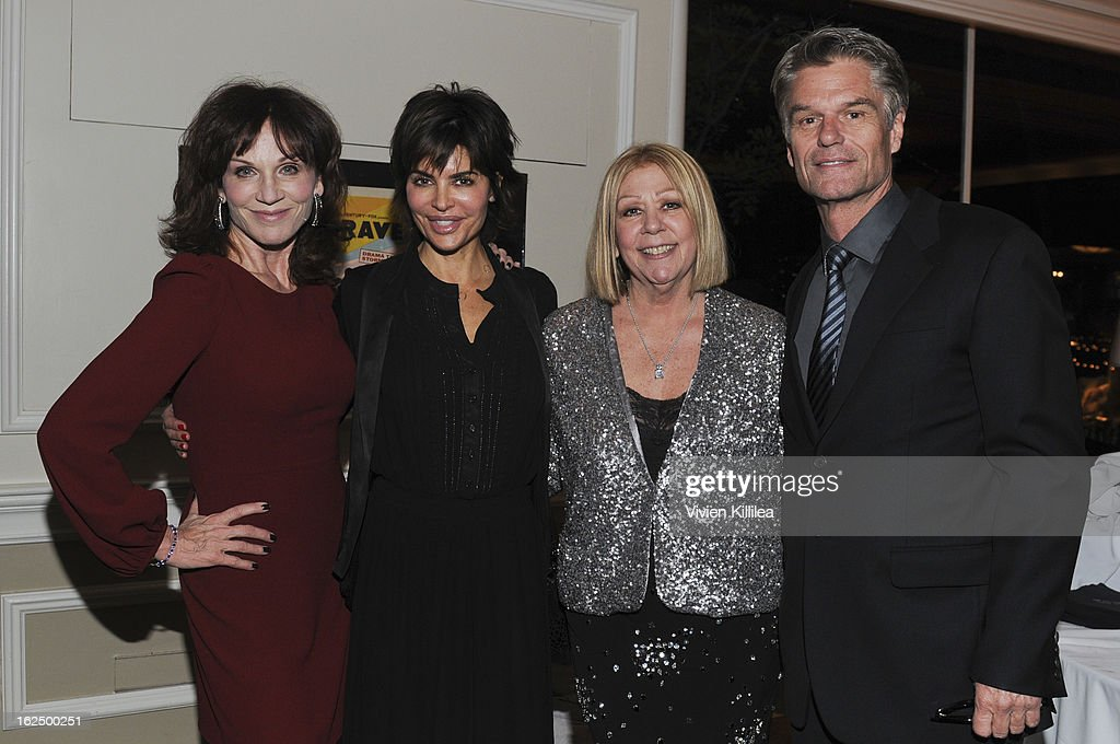 Marilu Henner, Lisa Rinna, Nancee Borgnine and Harry Hamlin attend The Borgnine Movie Star Gala at Sportsmen's Lodge Event Center on February 23, 2013 in Studio City, California.