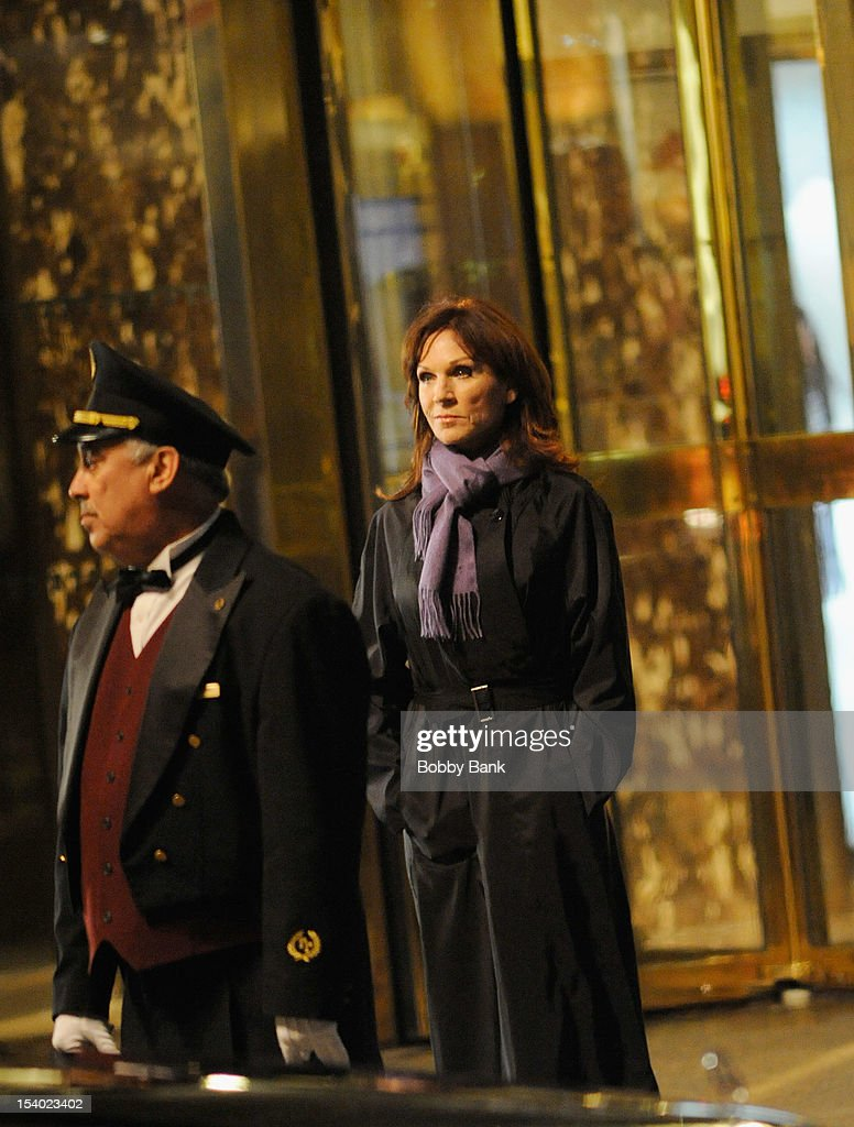 <a gi-track='captionPersonalityLinkClicked' href=/galleries/search?phrase=Marilu+Henner&family=editorial&specificpeople=213140 ng-click='$event.stopPropagation()'>Marilu Henner</a> seen on location for 'The Celebrity Apprentice All-Star' on October 11, 2012 in New York City.