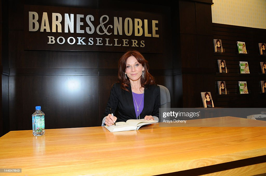 Marilu Henner signs and discusses her new book 'Total Memory Makeover' at Barnes Noble bookstore at The Grove on May 8 2012 in Los Angeles California