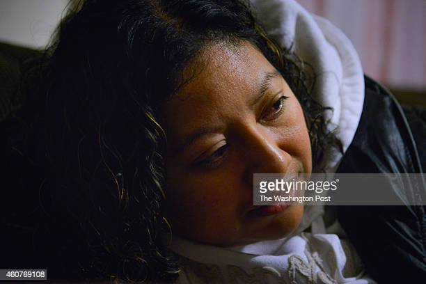 Marilu Morales contemplates the future of her family while trying to sort out the possibility receiving food stamps at an apartment she and her four...