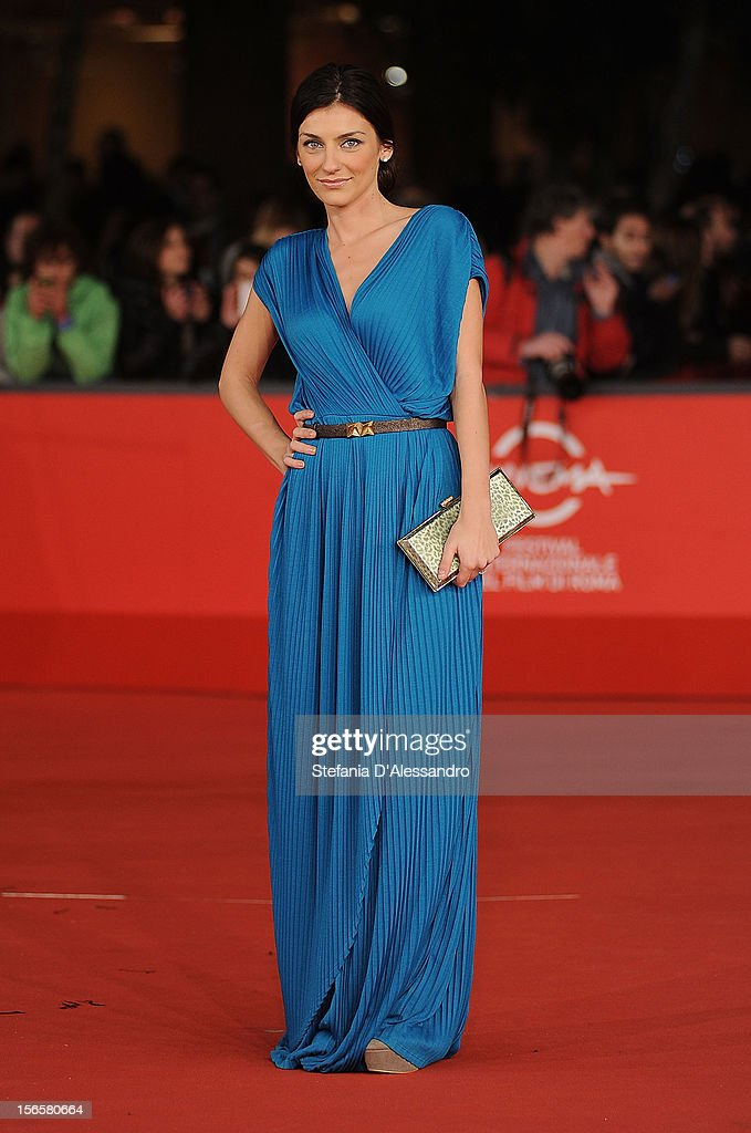 Marilu Pipitone attends 'Cosimo E Nicole' Premiere during The 7th Rome Film Festival on November 16, 2012 in Rome, Italy.