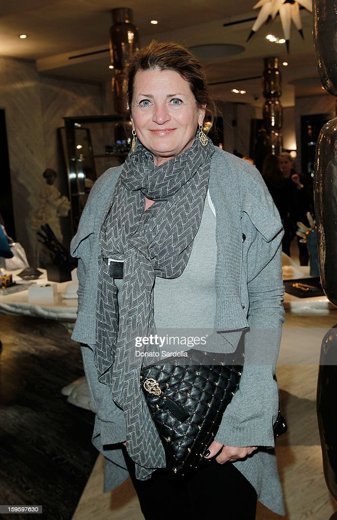 Marilyn Heston attends Kelly Wearstler and LACMA's Avant-Garde celebrating her eponymous new book Kelly Wearstler: 'Rhapsody' at Kelly Wearstler Boutique on January 16, 2013 in West Hollywood, California.