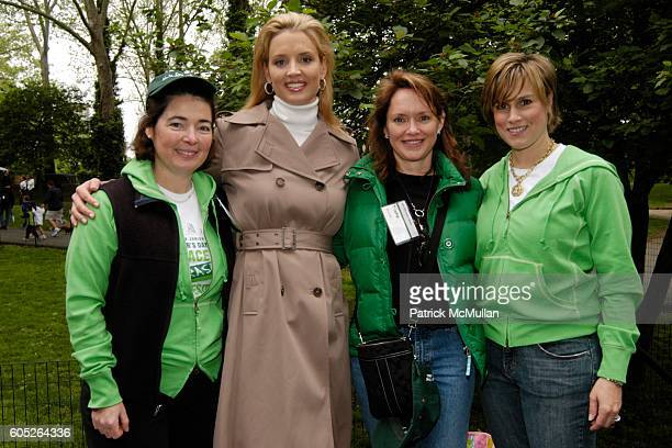 Marilyn Holstein Laurie Dhue Trisha Duval and Shannon Kennedy attend THE NEW YORK JUNIOR LEAGUE Mother's Day Race to Erase Domestic Violence at...