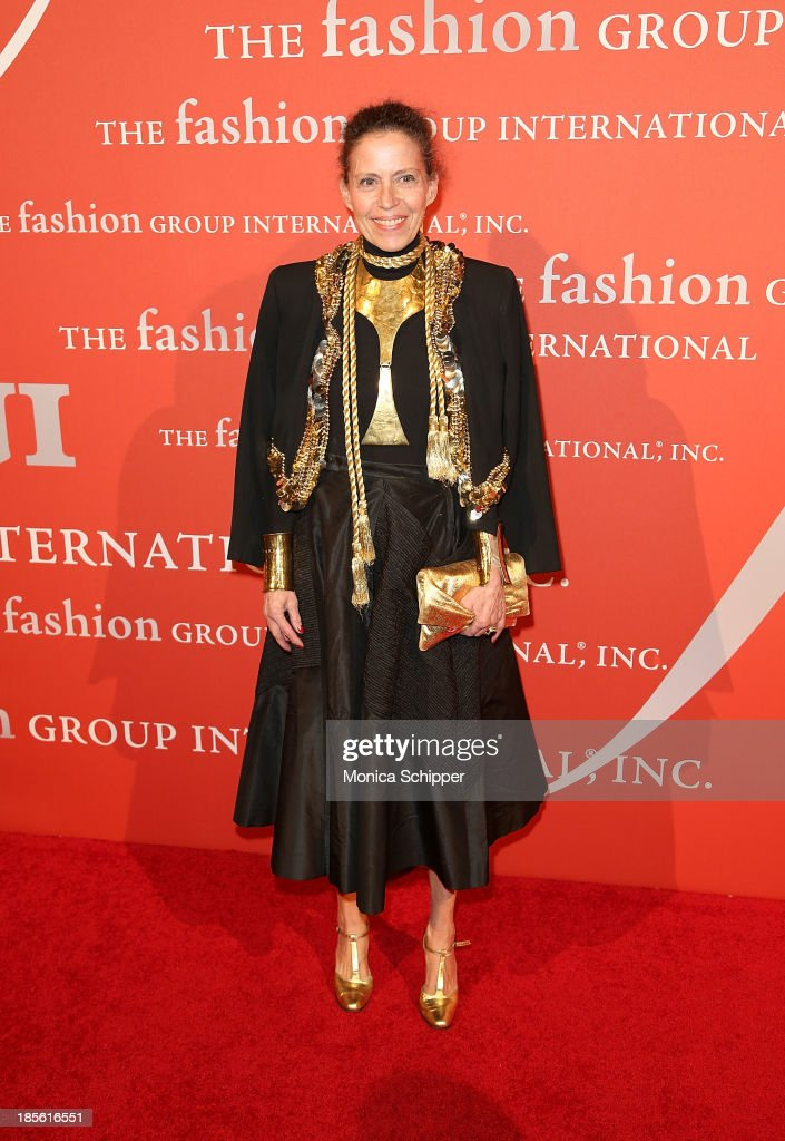 Marilyn Kirchner attends the 30th annual Fashion Group International Night of Stars on October 22, 2013 in New York City.