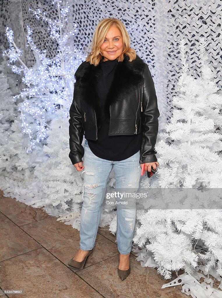 Marilyn Koch poses during the Sydney Winter Festival launch at St Mary's Cathedral on June 29, 2016 in Sydney, Australia.