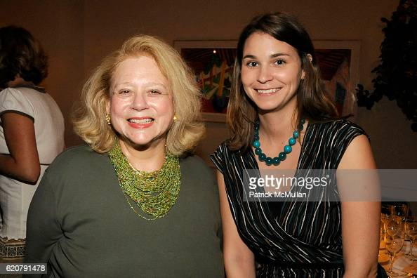Marilyn Malkin and Rebecca Kelly attend 'PARTY FAVORS' by Nicole Sexton Book Release Party at Michael's on July 29 2008 in New York City