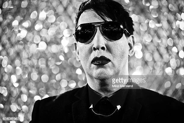 Marilyn Manson attends The Fashion Awards 2016 on December 5 2016 in London United Kingdom