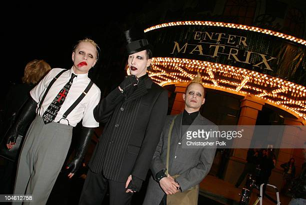 Marilyn Manson during 'Final Flight Of The Osiris' World Premiere at Warner Bros in Burbank CA United States