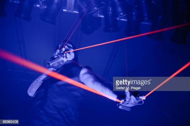 Marilyn Manson performs on stage at Zenith on November 24 2009 in Munich Germany