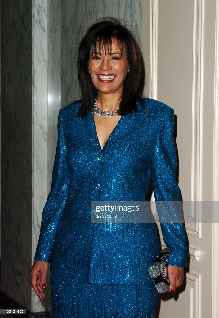 Marilyn McCoo during The Larry King Cardiac Foundation Gala at The Regent Beverly Wilshire Hotel in Beverly Hills, California, United States.