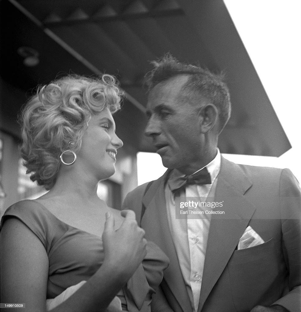Marilyn Monroe And Earl Theisen