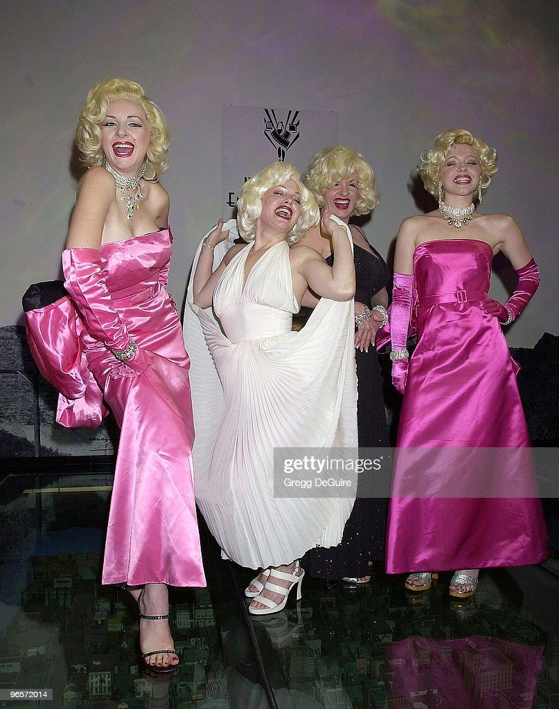 Marilyn Monroe lookalike's