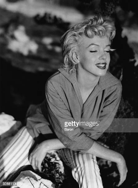 Marilyn Monroe originally Norma Jean Baker the Hollywood film actress